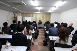 在日台灣不動產協會第一次舉辦講座便吸引許多會員參加
