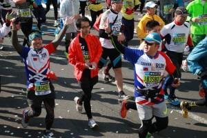 今年也有不少台灣跑者參加東京馬拉松