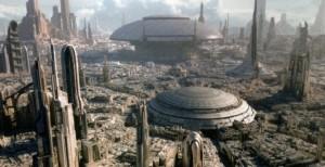 「星際旅行:冒險續航」有多種內容隨機播出,每次搭乘都有不一樣的新鮮感(©Disney ©& TM Lucasfilm Ltd.)