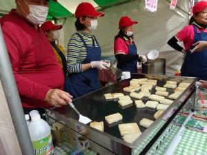 大阪佛光山提供招牌素食蘿蔔糕