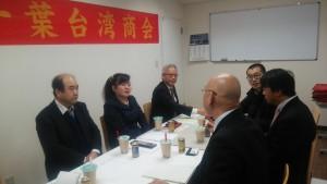 3今年1月17日千葉台灣商會和市川昴高校進行學術交流