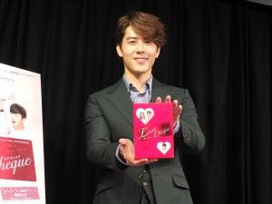 台湾人気俳優のジョージ・フー(胡宇威)が日本でバレンタインイベント
