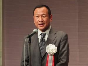 今年の参院選に意欲を示した亜東親善協会の大江康弘会長