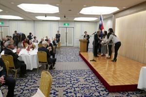 台灣留學生獲頒獎學金