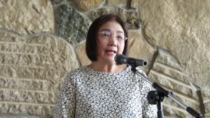 僑務委員新垣旬子受留日大學教師聯誼會之邀發表演講