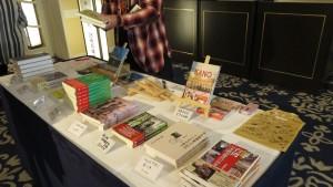 會場外販賣台灣相關書籍