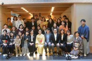 ⑥日本文化の伝授、有り難うございました。