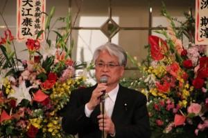 眾議員富田茂之表示願和新國會成員繼續為台日友好付出
