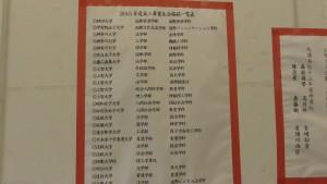 東京中華學校高三畢業班升學成績優異