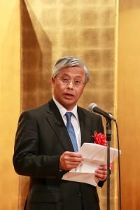 駐日副代表陳調和讚揚謝依旻是台灣的驕傲