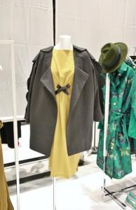 AUSTIN﹒W設計師吳日云特別介紹副線「the grey」的作品,以較親民的價格,讓消費者有機會接觸設計師品牌