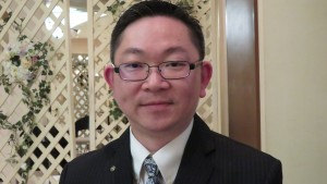 菁華扶輪社會長謝振維希望加強國際交流活動
