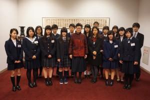 国立故宮博物院の馮明珠院長を表敬訪問