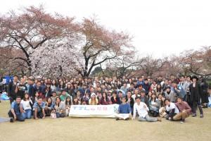 「台日花見大会」に250人参加