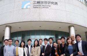 工業技術研究院を訪れた訪問団