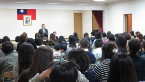 橫濱中華學院說明會家長踴躍出席