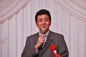 眾議員岸信夫關注總統就職典禮上蔡英文的致詞內容