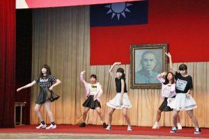 在校生表演熱舞歡迎小1新生