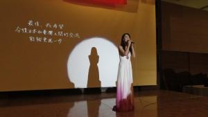 日本歌手真氣以中文創作感謝台灣