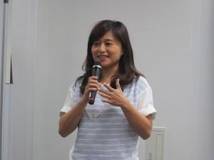「店主は、猫―台湾の看板ニャンコたち」発行を記念し、トークイベントを行った猫写真家の猫夫人