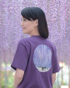 日台で活躍するシンガーソングライター・真氣さんがTシャツプロデュース