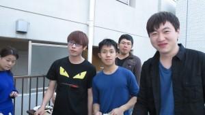 台灣留學生一起辦烤肉PARTY