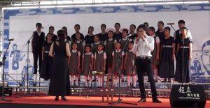 日本童謡音楽会での演奏の様子