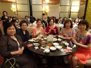 僑界婦女相聚、共度歡樂時光