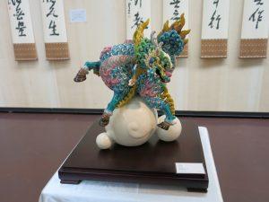 展示された交趾陶