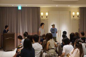 中野裕太さん(左)と谷内田彰久監督がサプライズゲストとして登壇