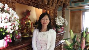 東京媽祖廟代表連昭惠感謝信徒參與 普渡圓滿順利
