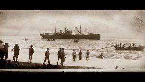 日本戰敗後,在台的日人和灣生被遣返回日本(©田澤文化有限公司)