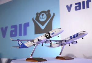 台湾の格安航空会社(LCC)のVエア