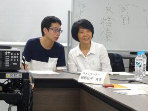 陳柔縉氏(右)