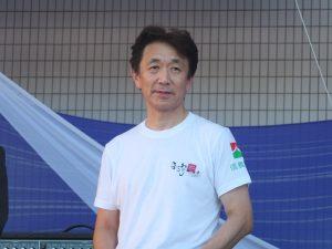台湾フェスタ実行委員長の朱恭亮氏