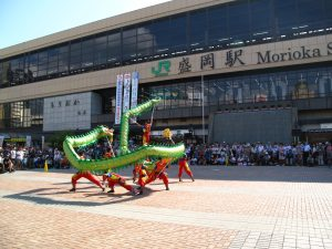 JR仙台駅では台湾観光協会による観光PRイベントが行われた