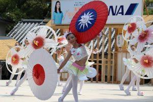新竹縣光明國小舞蹈社在高知夜來祭上舞出客家精神