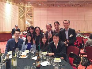 日本僑界和台商企業應邀出席懇親會進行交流