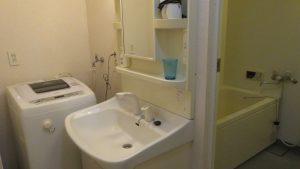 洗臉檯洗衣機浴室乾濕分離