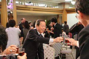 駐日代表謝長廷出席餐會與各僑團領袖交流