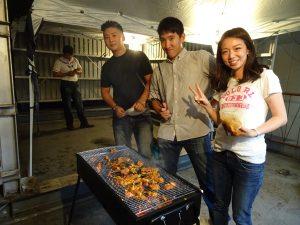 海外烤肉過中秋
