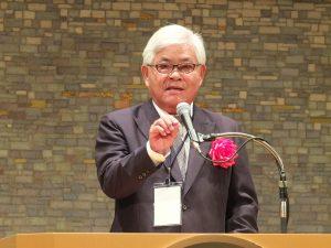 雲林県の李進勇県長は9月21日に行われた商談会・セミナー及び懇親会で自らトップセールス