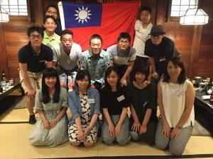 京都華僑総会青年部のメンバー