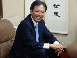 駐大阪辦事處新處長陳訓養健談、平易可親