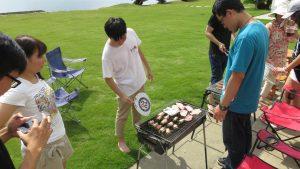 青年部分工合作 中秋烤肉