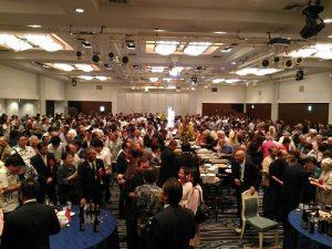 會場聚集逾500為賓客,共同慶祝雙十國慶
