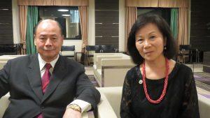 左 陳天汶與謝張芳珠談未來傑人會規畫