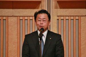 參議員西田實仁致詞祝賀國慶雙十