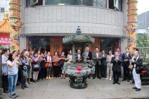 東京媽祖廟於10月9日舉辦團拜,同時慶祝建廟3周年