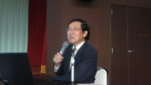 東京學藝大學名譽教授 小泉武榮講解中央alps地質形成